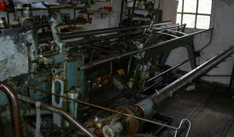 WAFIOS AF 30 – CHAIN LINK FANCE MACHINE full