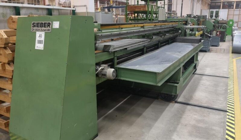 1979/2002- CUT TO LENGTH LINE – SIEBER full
