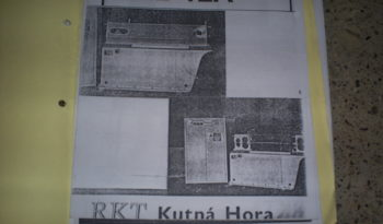 KUTNA HORA – STRAIGHTENING AND CUTTING MACHINE full
