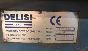 2001 – DELLISI – STRAIGHT&CUT MACHINE full